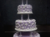Small Flowers Wedding Cake