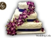 Flower Wrap Wedding Cake