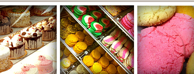 Some of our popular Pan Dulce and Cakes
